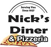 nick's diner logo oneonta hub