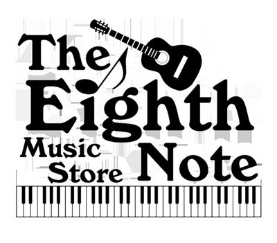 eighth note music store logo oneonta hub
