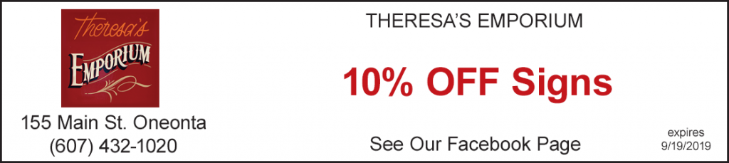 Discount 10% off signs