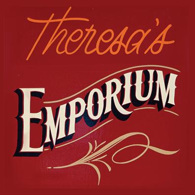 theresa's emporium logo oneonta hub